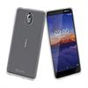 Muvit - muvit pack Nokia 3,1 funda Cristal Soft transparente + protector pantalla vidrio templado plano