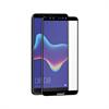 Muvit muvit protector pantalla Huawei Y7 2018 vidrio templado plano marco negro