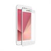 Muvit muvit protector pantalla Xiaomi Redmi 5A vidrio templado plano marco blanco