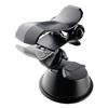 "Muvit muvit soporte coche universal pinza salpicadero y parabrisas 360 hasta 6,5"" negro"