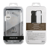Muvit - muvit Tiger Hard funda Apple iPhone 9 shockproof 3m transparente + borde negro