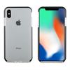 Muvit muvit Tiger Soft funda Apple iPhone X Plus shockproof 2m transparente + borde negro
