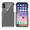 Muvit muvit Tiger Soft funda Apple iPhone X2/X shockproof 2m transparente + borde negro