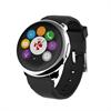Reloj de Actividad y Sueño Negro/Plata con Notificaciones y pantalla Táctil Zeround Mykronoz