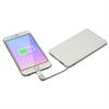 Batería Externa 5000 mAh Blanca con cable micro-usb incluido y adaptador Lightning  Myway
