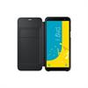 No Existe Samsung funda Wallet Samsung Galaxy J6 negra