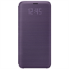No Existe Samsung Galaxy S9 led view cover lila