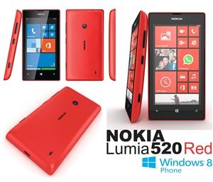 Nokia Lumia 520 Red - ...