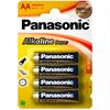 Panasonic Bronze Pila Alcalina Aa Lr6 Blister*4