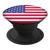 Popsockets Soporte adhesivo multiusos American Flag para smartphones PopSockets