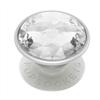 Popsockets PopSockets soporte adhesivo Disco Crystal Silver