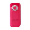 Batería Externa Rosa Fast Charger 4000 mAh 2,4A 2USB + Cable Micro USB-USB) Puro