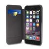 Puro - Funda Piel Booklet + 3 Ranuras para Tarjeta Apple iPhone 6 Plus Puro Business