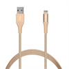 Cable Carga y Sincronización Oro 2,4A Apple Lightning MFI Oro 1 m Compatible Fast Charger Puro