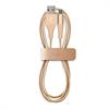 Cable Carga y Sincronización Gold 2,4A Micro USB 1m Compatible Fast Charger Puro