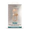 Puro - Cable Carga y Sincronización Gold 2,4A Micro USB 1m Compatible Fast Charger Puro