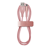 Cable Carga y Sincronización Rose Gold 2,4A Micro USB 1m Compatible Fast Charger Puro