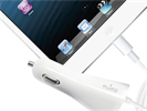 Cable Cargador de Coche Blanco 1 Amp Apple Lightning MFI Puro