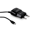 Mini Transformador Negro Micro USB 2A Qualcomm QC 3,0 Puro