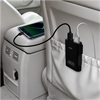 Puro - Cargador de Coche 2 USB + 2 Puertos USB Extra 6,8Amp 1,8m Puro