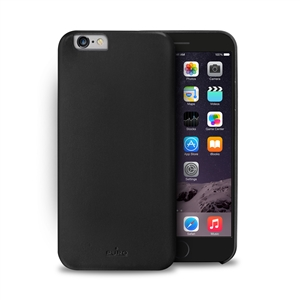 Puro - Carcasa Soft Touch Negra Apple iPhone 6 Plus Puro