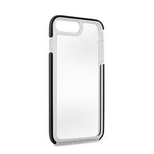 Puro - Carcasa Alta Protección Impact Pro Transparente Negra Apple iPhone 7 Plus Puro