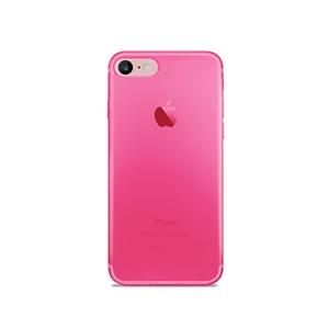 Puro - Funda Nude 0,3 Fluo Rosa Apple iPhone 7 Puro