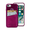 Carcasa Shine Pocket Burdeos Apple iPhone 6 6s 7 7s Puro
