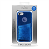 Puro - Carcasa Shine Pocket Azul Oscuro Apple iPhone 6 6s 7 7s Puro