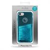Puro - Carcasa Shine Pocket Verde Oscuro Apple iPhone 6 6s 7 7s Puro