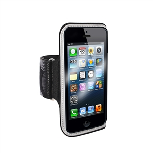 Puro - Funda Brazo Apple iPhone 5 Negra