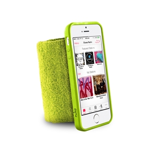 Puro - Funda Muñequera Apple iPhone 5/5S Verde Puro