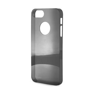 Puro - Carcasa Cristal Negra Apple iPhone 5 Puro