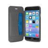 Puro - Funda Booklet Negra Carcasa Trasera Transparente y Tarjetero Apple iPhone 6 5.5&quote; Puro