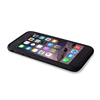 Puro - Funda Bumper Negra Soft Touch Apple iPhone 6/6S Puro