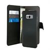 Funda Folio 2 en 1 Magnética Negra 3 tarjeteros + Billetero Samsung Galaxy S8 Plus Puro