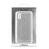Puro - Funda Shine Plata Apple iPhone X Puro
