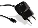Mini transformador Negro 1 Amp Micro USB Puro