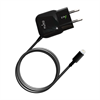 Mini Transformador Negro 2,1 Amp Apple Lightning MFI Puro