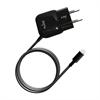Mini Transformador Negro 2,1 Amp Apple Lightning MFI Puro
