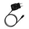 Mini Transformador Negro 1 Amp Apple Lightning MFI Puro