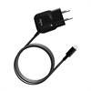 Mini Transformador Negro 1 Amp Apple Lightning MFI Puro