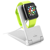 Soporte de Sobremesa Plegable Plata Apple Watch 38/42 mm Puro