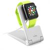 Soporte de Sobremesa Plegable Plata Apple Watch 38/42 mm Puro