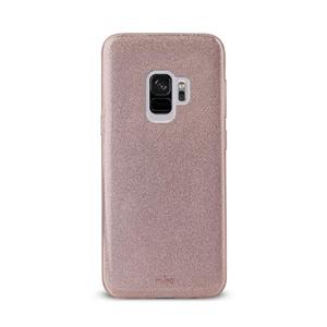 Puro - Funda Shine Rose Gold Galaxy S9 Puro