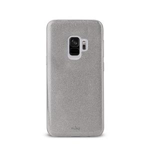Puro - Funda Shine Silver Galaxy S9 Puro