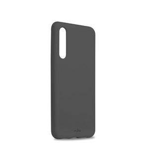 Puro - Puro carcasa (con microfibra en el interior) Huawei P20 Pro gris