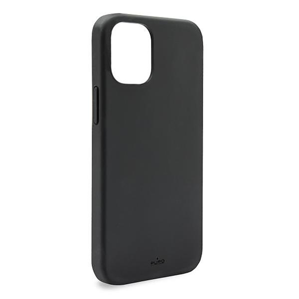 Puro - Puro carcasa silicona Icon Apple iPhone 12/12 Pro negra