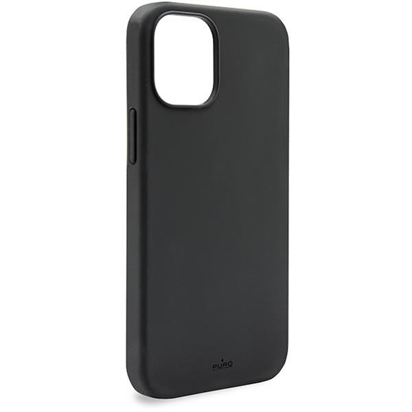 Puro - Puro carcasa silicona Icon Apple iPhone 12 Pro Max negra