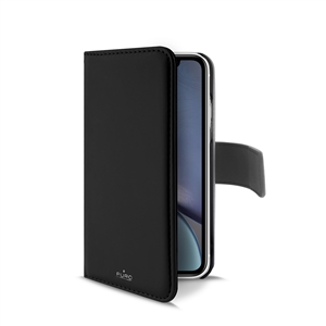 Puro - Puro funda folio Apple iPhone XR + carcasa extraíble negra